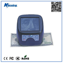 High Accuracy Currency Verifier Detector Machine with UV Laser IR White Light MT