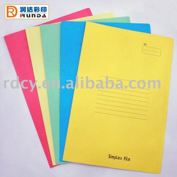 Fashion style Square Cut Paper Folder
