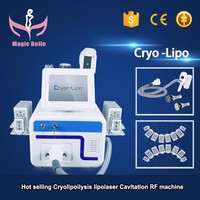 Hotest Cryolipolysis machine/ Lipolaser machine/cavitation RF fat freezing machine