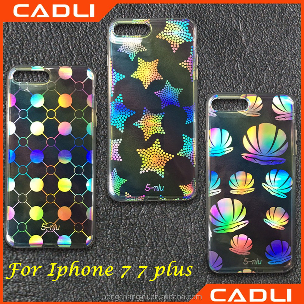 IMD Blue Ray PC Clear Colorful Cool Design Phone Case For iPhone 7 6 6S 6 Plus