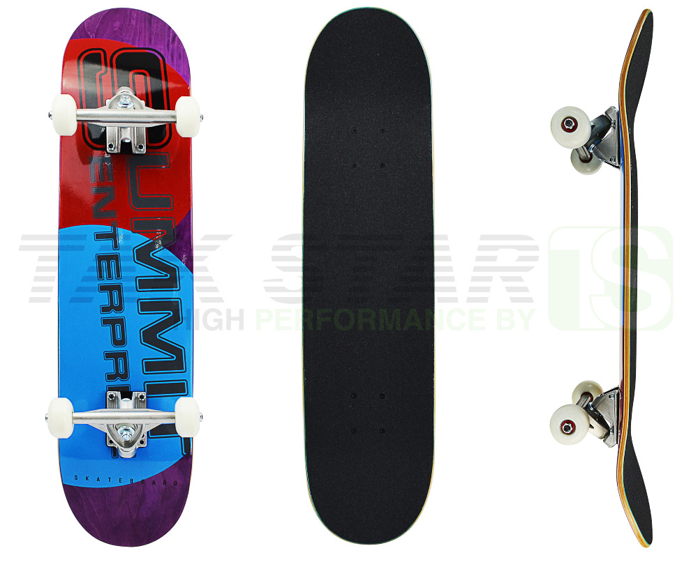 traditional maple wooden skateboards complete