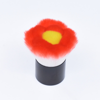 DSX Popular 2017 hot sell Flower hiar Kabuki Make up Brushes Private label Makeup accessories