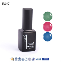EA soak off gel uv polonais gel vernis à ongles