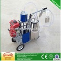 trolley cows milking machine/ vacuum pump milking trolley for cow/goat/sheep 2017