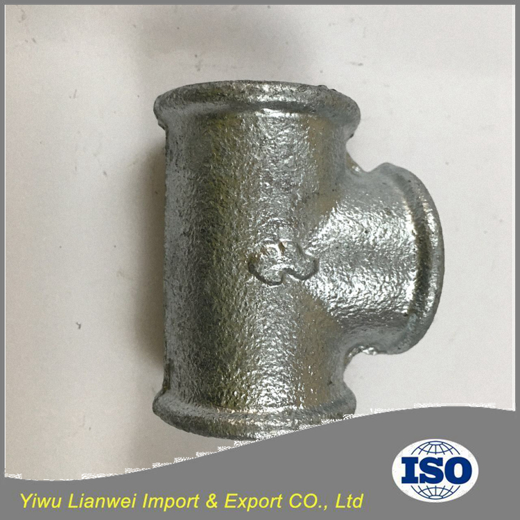 Best Selling Hot Dipped Galvanized Pipe Fitting Equal Tee
