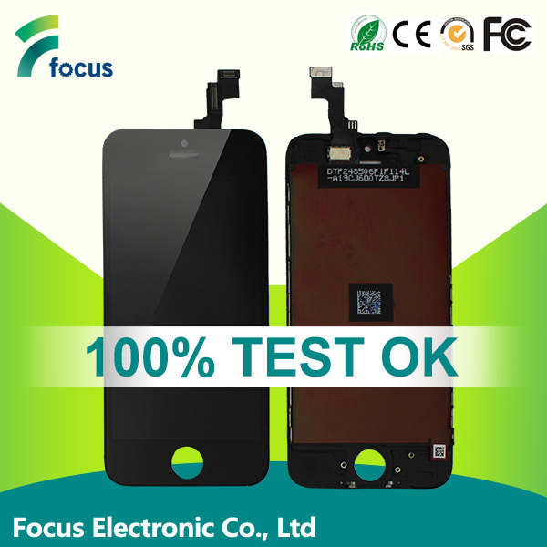 Focus 100% original lcd screen for iphone 5c replacement touch screen