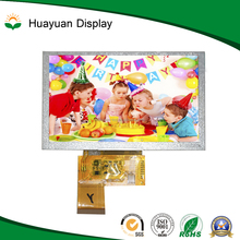 Color 480*272 Dots 5 inch TFT lcd display module RGB888 Data Transfer With touch panel