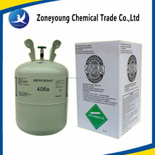 China wholesales Manufacturer R410a, R134a, R407c, R32, R406a refrigerant gas