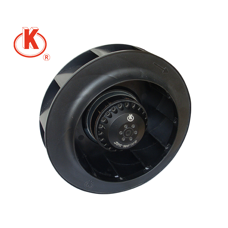 220V380V 133mm backward curved silent plastic centrifugal fan with factory price