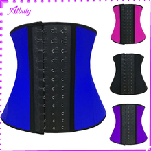 Fashion Corset Blue Underbust Full Steel Boned Corset