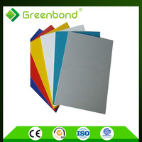 Greenbond environmental protection material for building wall cladding material aluminum composite plate PVDF coated