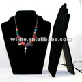 fashion acrylic necklace showing display board