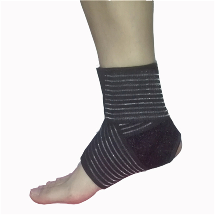 antislip breathable neoprene ankle brace with compression wrap support