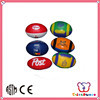 GSV certification colorful printed promotional cheap rugby ball