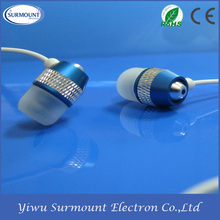 High quality different color cheap promotion waterproof High Class Mobile Phone Earphone