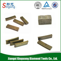 Power tools cutting stone marble and granite cutting segment