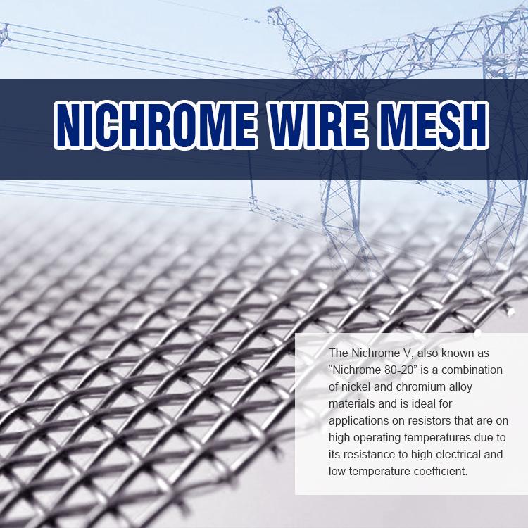 Alibaba China 150 Micron Nichrome Wire Mesh/filter Cloth/nichrome ...