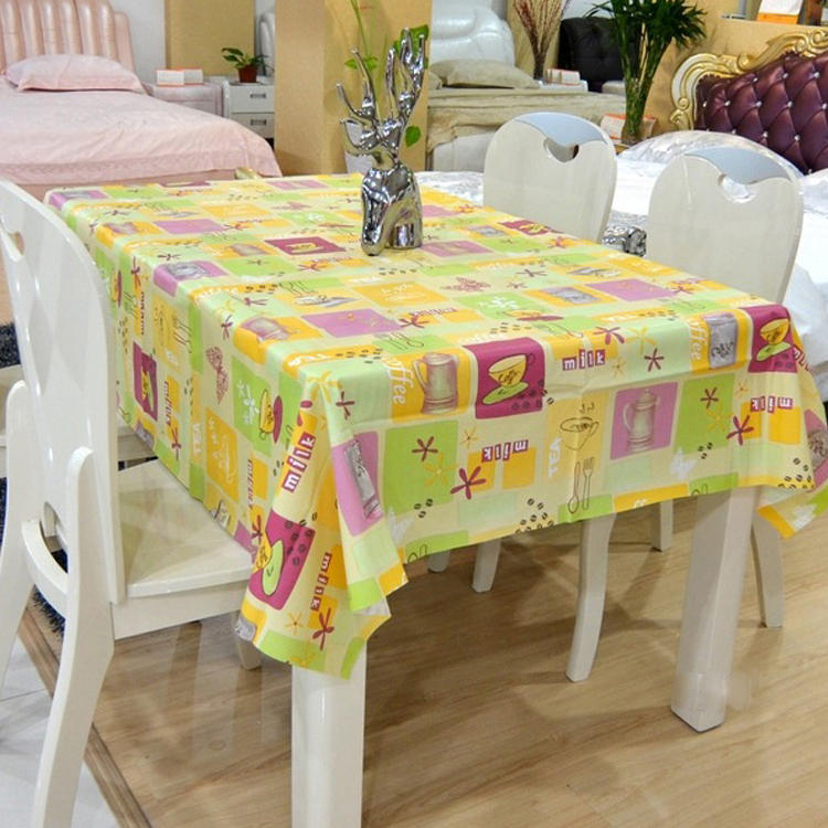 PVC tablecloth with nonwoven backing, pvc nonwoven tablecloth roll