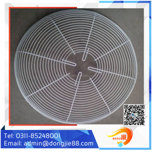High safety value wire mesh fan cover for radiator