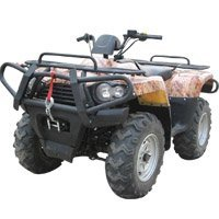 Powerful 400cc Engine ATV with 4-wheel Drive