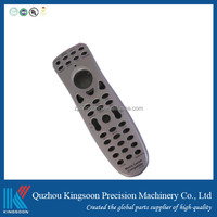 abs household mould enclosure plastic injection remote control shell of tv dvd with customized