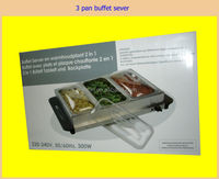 Party Kitchen electric buffet server / food warmer / food warmer plate