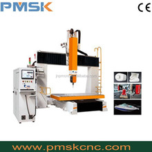 5 axis cnc router /cnc cutting and carving machine 1224 5axis for wood,acrylic,foam,MDF with good price