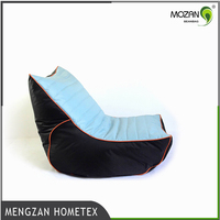 Popular waterproof pouf filling bean bag cover chair for gaming