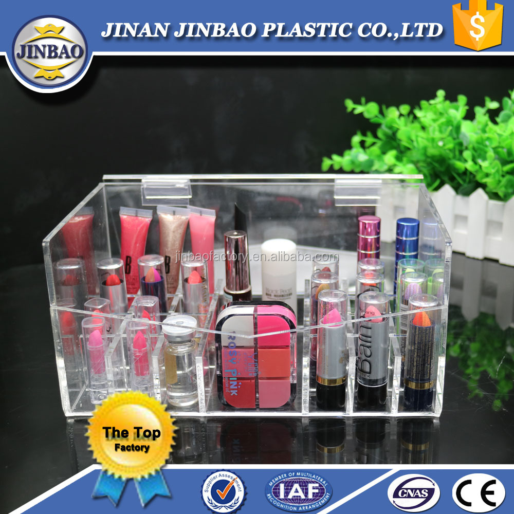 JINBAO factory wholesale personalized design ikea acrylic display boxes
