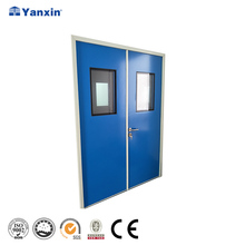 Hospital Single Aluminum Door Designs With Glass