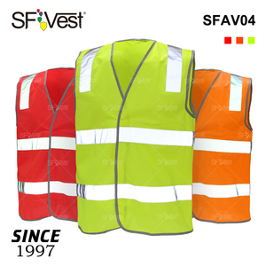 100% Polyester CSA AS/NZS Class 2 Traffic Road Construction Workwear Customize Warning Fluorescent Hi Vis Reflective Safety Vest