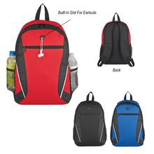 Three Colors Option 600D Polyester Fashion Backpack