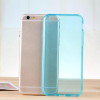 2014 New mobile phone case clear soft tpu for iphone 6 tpu cover case