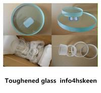 Polishing Quartz glass circle disc for optical instruments, round glass
