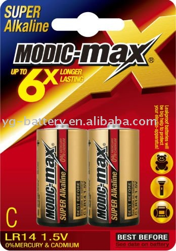 Alkaline Battery C LR14