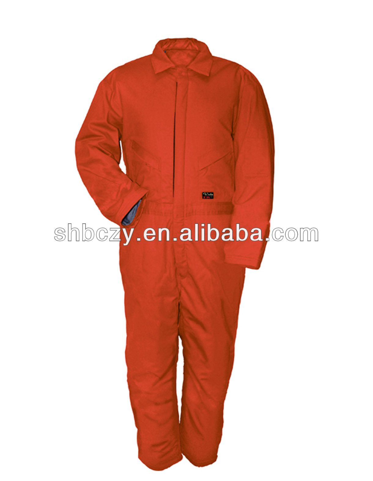 Coveralls with reflective tape