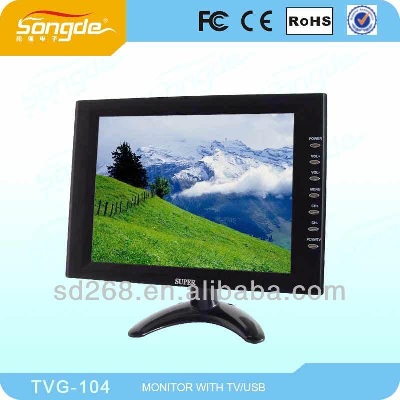 7 inch portable lcd tv flat screen mini tv
