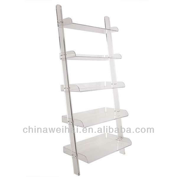 2014 New Design!Clear acrylic bookcases