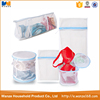 Hot Selling High Quality Cheap Color Coded Mesh Wash Bags, Set of 5