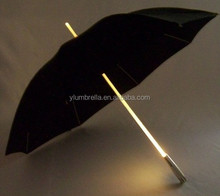 handle led light umbrella, led light umbrella for christmas,umbrella with light