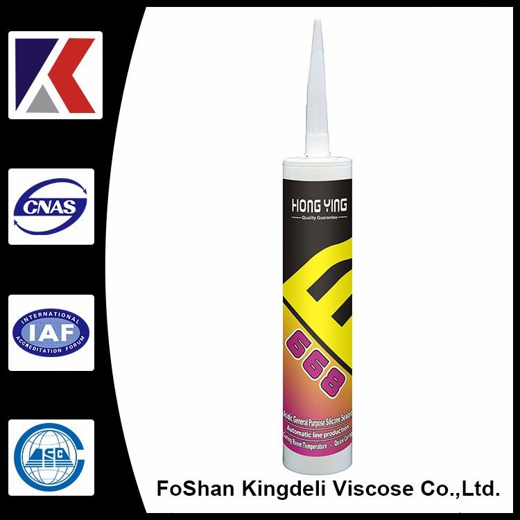 Excellent adhesion for glass and most building materials construction sealant