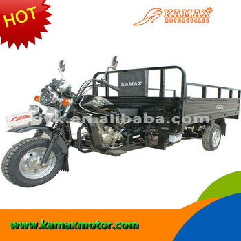 250cc KA250W-R Black Cargo Three Wheel Motorcycle