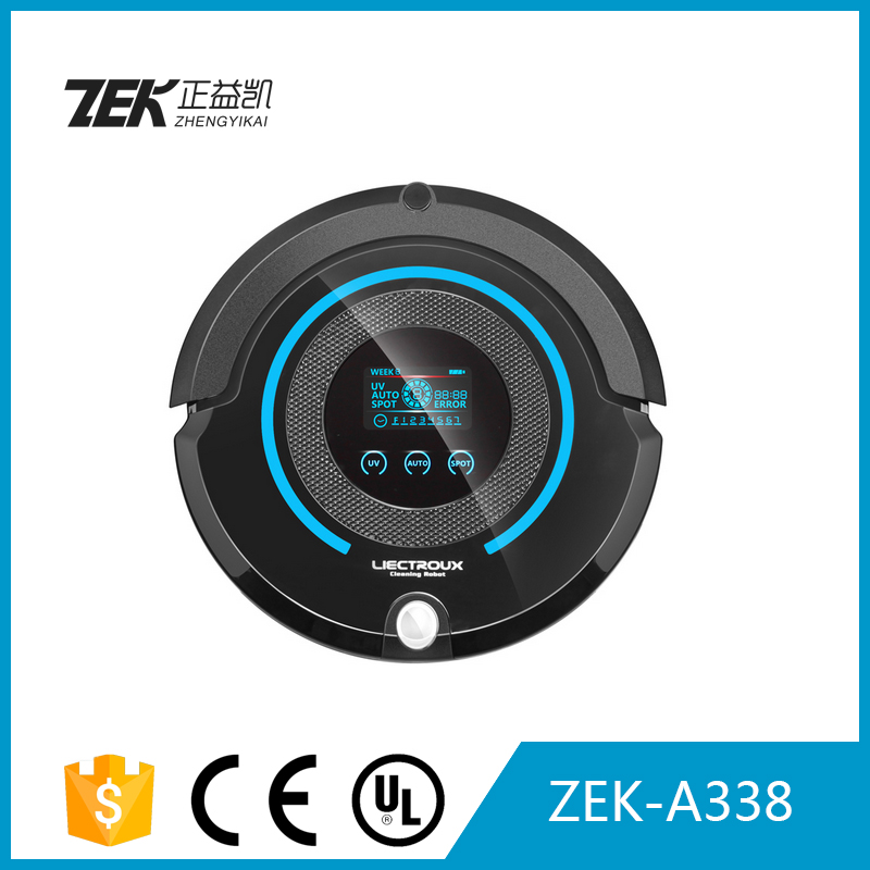 ZEK-A338 2200Mah Auto Recharged robot vacuum cleaner with dry and wet