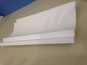 Plaster ceiling crown molding building decoration for Advanced molding and decoration