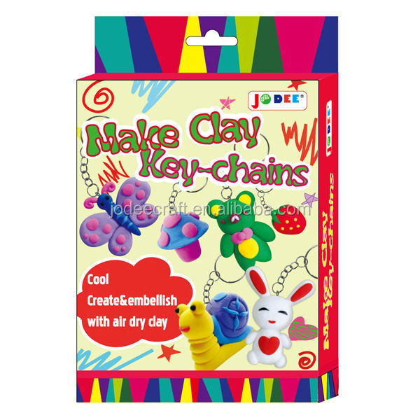 Clay Creates Make Clay Craft Keychains