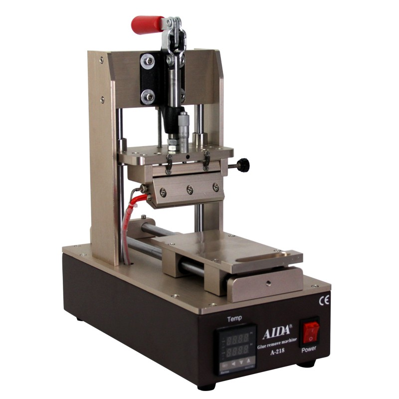 2 in 1 polarizer and glue remover for AIDA A-218 refurbish repair machine . LCD refurbish machine