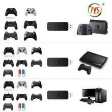 JYS Wireless for PS4 for PS3 for <strong>Xbox</strong> One S 360 Controller Fighting Stick Magic-NS Adapter for Nintendo Switch NS & PC