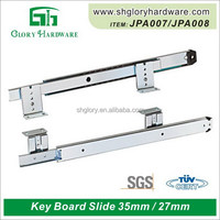 Qualified creative metal box drawer slide track