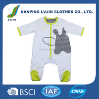 White softextile baby set baby clothes romper for kids boys,customized newborn baby clothing