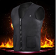 USB Heated Outdoor Winter Battery Neoprene Fiber Heating Vest for Keep Warm for People